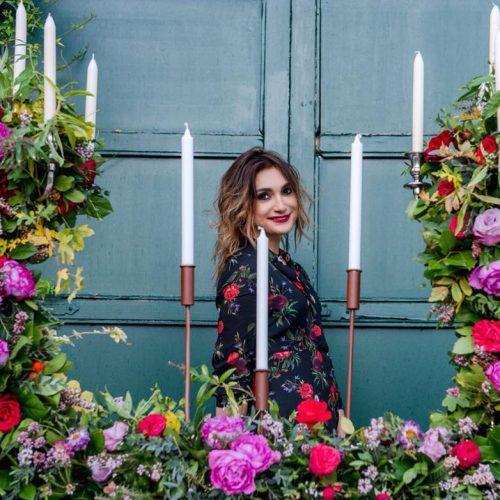 flower designer Claudia Cameranesi