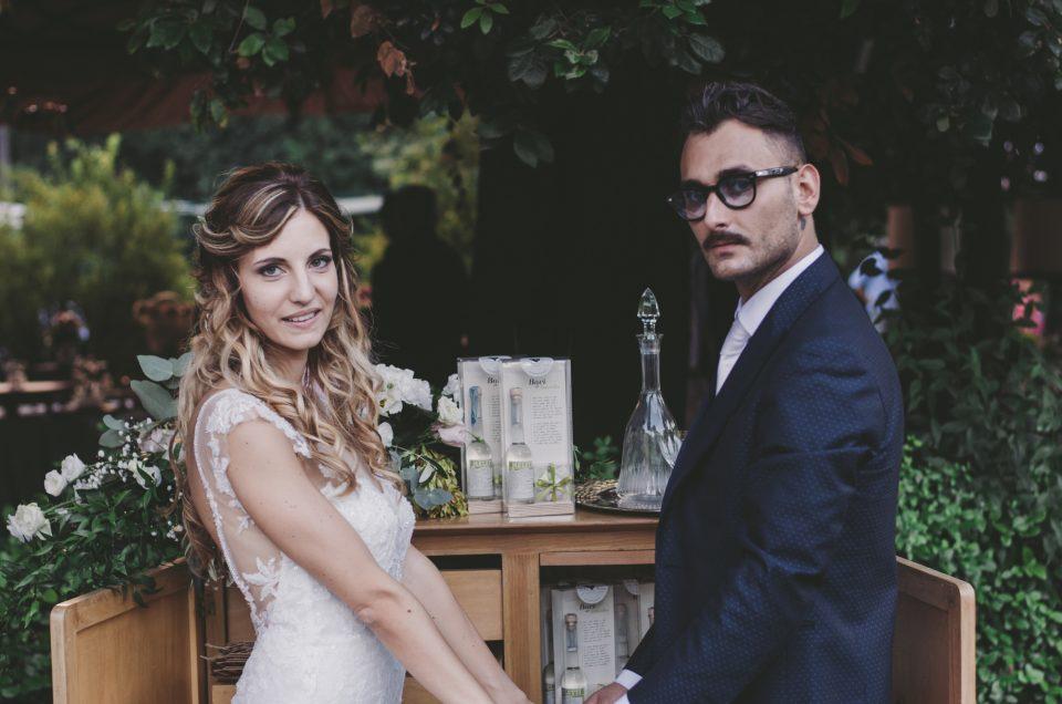 Ambra & Marco, un matrimonio Green&Vintage