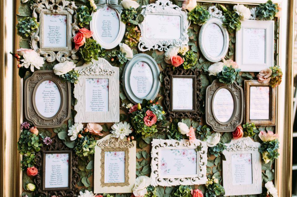 Tableau de mariage, idee e soluzioni